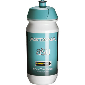 Tacx Shiva Bio Vannflaske 500ml Team Astana Hvit/turkis